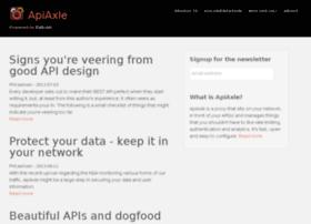 blog.apiaxle.com