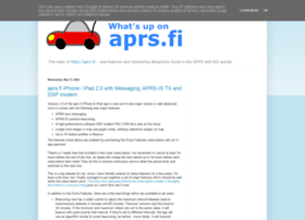 blog.aprs.fi