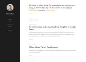blog.arshaw.com