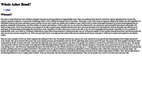 blog.asherbond.com