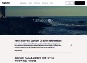 blog.aspiration.com