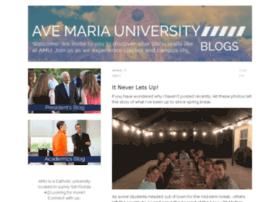 blog.avemaria.edu