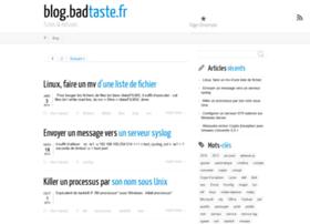 blog.badtaste.fr
