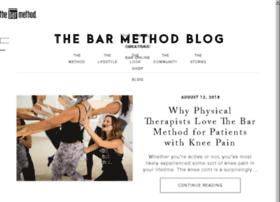 blog.barmethod.com