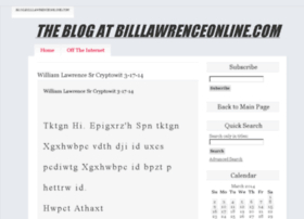 blog.billlawrenceonline.com