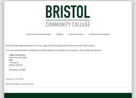 blog.bristolcc.edu
