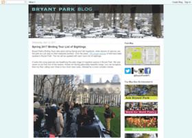 blog.bryantpark.org