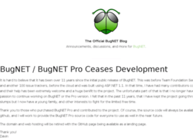 blog.bugnetproject.com