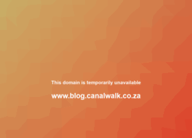 blog.canalwalk.co.za