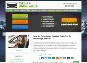 blog.cash4usedcars.com