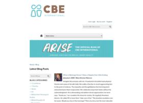 Blog.cbeinternational.org