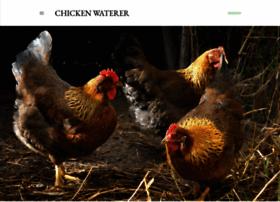 blog.chickenwaterer.com