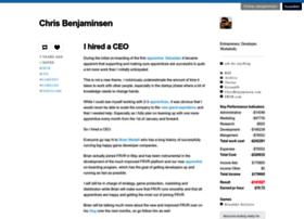 blog.chrisbenjaminsen.com