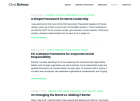 blog.chrisbolman.com