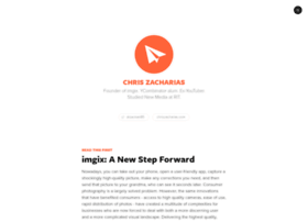 blog.chriszacharias.com