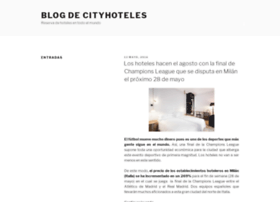blog.cityhoteles.com