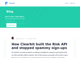 blog.clearbit.co