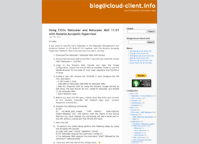 blog.cloud-client.info