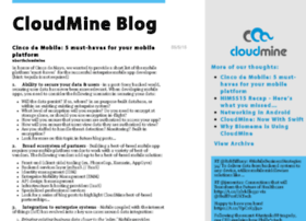 blog.cloudmine.me
