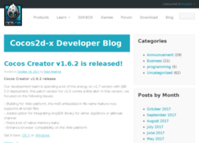 blog.cocos2d-x.org