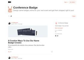 blog.conferencebadge.com