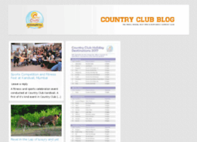 blog.countryclubindia.net