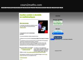 blog.cours2maths.com