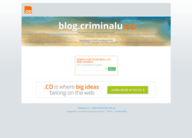 blog.criminalu.co