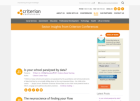 blog.criterionconferences.com