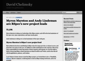 blog.davidchelimsky.net