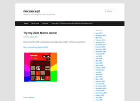 blog.deconcept.com