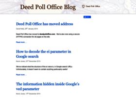 blog.deedpolloffice.com