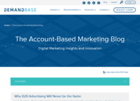 blog.demandbase.com