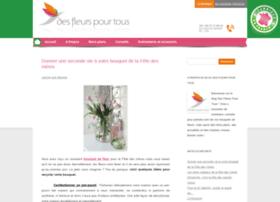 blog.desfleurspourtous.com