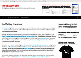 blog.devilatwork.de