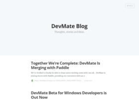 blog.devmate.com