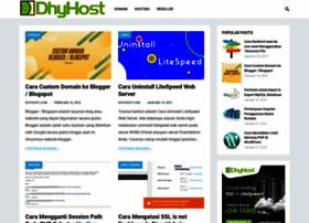 blog.dhyhost.com
