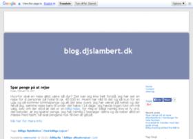 blog.djslambert.dk