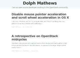 blog.dolphm.com