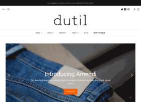 blog.dutildenim.com