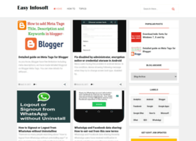 Blog.easyinfosoft.com