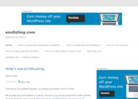 blog.enslisting.com