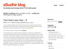 blog.esudhir.com