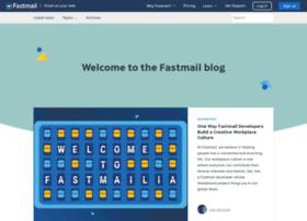 blog.fastmail.com