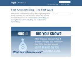 blog.firstam.com