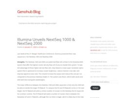blog.genohub.com
