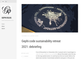 blog.gephi.org