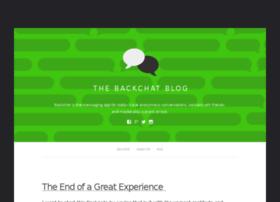 blog.getbackchat.com