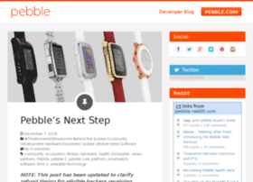 blog.getpebble.com