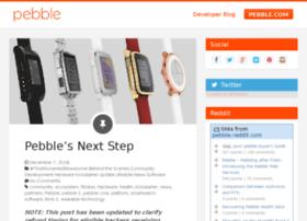 blog.getpebble.com